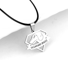 Pendentif Metal Gear Dogs Metal Gear Dogs Logo Metal Necklace Rope Chain