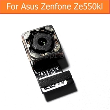 "100% Org Genuine Rear camera for Asus zenfone ZE550kL Z00LD laser 5.5"" back camera with flex cable good tested replacement parts"