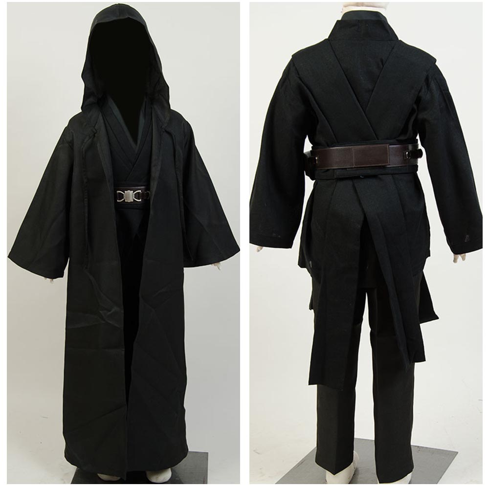 Hot Movie Star Wars Anakin Skywalker Cosplay Costume Child Version Full Sets Halloween Carnival Cosplay Costume