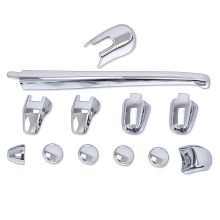 12pcs/set ABS Chrome Car Styling Rear Window Wiper cover trims Decoration For Kia Sportage 2007 2008 2009 2010