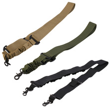 112*3.7cm Multifunctional Safety Rope Outdoor Camping Survival Single Point Inclined Shoulder Band For tactical Camera(China)