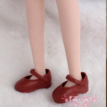 Brown Casual Shoes For Blythe Dolls 1/6 Flat Shoes For Licca Azone Doll Mini Shoes For 1/6 BJD Doll Accessories(China)