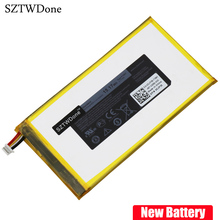 SZTWDone New Tablet battery for DELL Venue 7 8 3730 3830 0CJP38 P706T 3.7v 15.17wh