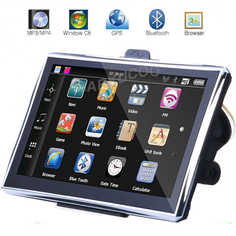 The 7 inch hd touchscreen