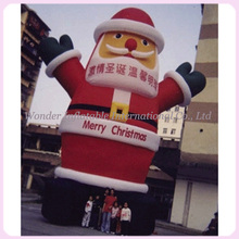 Outdoor inflatable Christmas decoration,giant inflatable Santa Claus,Santa Claus inflatable model(China)