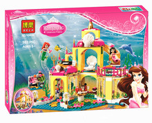 BELA 10436 JG306 Girls Friend Toys Princess Undersea Palace Girl Friends Building Blocks Bricks Children Birthday Gift - Shop2881281 Store store