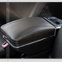 Hot sale Car armrest box central Store content box products Armrest Storage Center Console accessories for ford ECOSPORT 2013 20