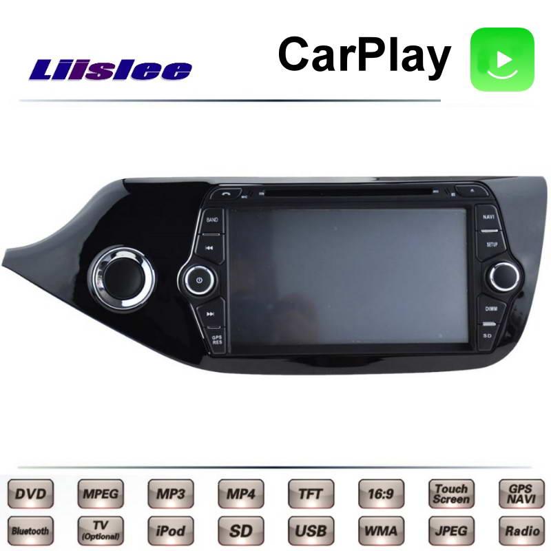 For KIA Ceed Cee\'d JD 2012~2017 Car Multimedia TV DVD GPS Radio Carplay Original Style Navigation Liislee Advanced Navi 2