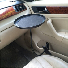 black pink white Car food tray folding dining table drink holder car pallet back seat water car cup holder