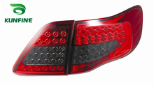 Pair Of Car Tail Light Assembly For TOYOTA COROLLA 2007-2009 LED Brake Light With Turning Signal Light KF-L7072(China)