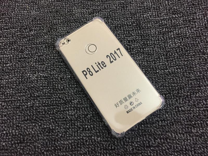Transparent silicone case huawei P8 Lite 2017 honor 8 lite (1)