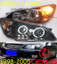 Lexu IS200 headlight,2006~2012,Fit for LHD,Free ship! IS200 fog light,2ps/set+2pcs Ballast; IS200(China)
