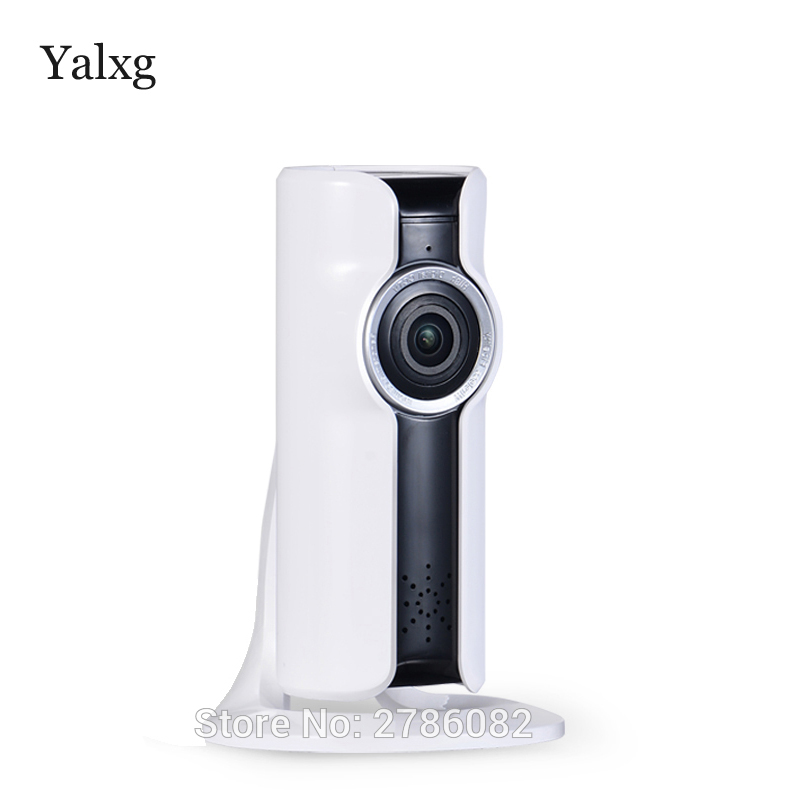 Yalxg Mini Wifi VR IP Wireless 960P HD Smart 180 panoramic Network Security Home Protection Surveillance Camera with sd Storage <br>
