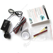 1 Kit Bus Truck Auto Electromagnetic Parking Sensor Easy Install,Parking Radar,No Holes Need,Bumper Guard Back-up Parking Sensor
