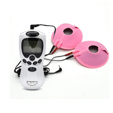 Buy Electric Shock Stimulation Nipple Clamps Electro Pulse Therapy Kit Breast Chest Orgasm Paste Vibrators Adult Games Masturbation