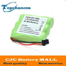 High Quality 3.6v 2000 mAh NI-MH Phone Battery for Panasonic KX-A36 P-P501 for Uniden BT-905