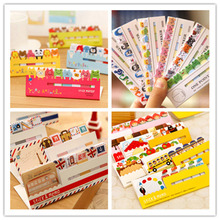 Mini DIY Cute Cartoon Animal Paper Sticky Memo pad Kawaii Korean Stationery Post it note for kids Free shipping 138(China)