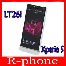 Original Sony Xperia S LT26i Mobile Phone Unlocked LT26i Dual Core 3G GSM WIFI GPS 12MP Refurbished Phone