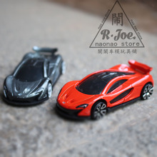 1:64 Alloy car model Sports car series 2PCS car McLaren P1 super car Children like the gift Family Collection Decoration(China)