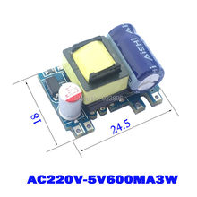 Small Volume Isolated Switching Power Supply 5V Module Precision 5V3W AC-DC Buck Module 220 to 5V Switch Power SUpply