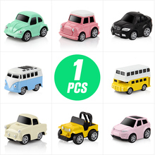DODOELEPHANT 1 pcs Mini Alloy Car Toy Pull Back Little Racing Cars Metal Diecast Model Brinquedo Toys For Boys Children Kid Gift