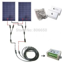 COMPLETE KIT 200W Solar Panel Cells Off Grid System, 200w Solar System For Home& Free Shipping No tax No Duty(China)