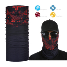 Wholesale Skull Bandana Most popular Tube Multi Custom Seamless Bandana head dress and face dress bandana
