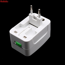Kebidu New Arrival AU US UK EU Converter Plug All in One Universal International Plug Adapter Port World Travel AC Power Charger(China)