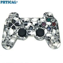 PHTICAL Camouflage Wireless Bluetooth Gamepad For SONY Playstation 3 PS3 Controller P3 Joystick for Dualshock 3 Controle 6 Color