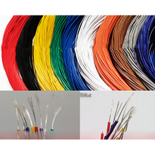ZLinKJ 5/10 metres super flexible 26AWG PVC insulated Wire Electric cable, LED cable, DIY Connect 10 colors choose 2 Sizes(China)