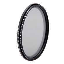 Andoer 77mm ND Fader Neutral Density Adjustable ND2 to ND400 Variable Filter for Canon Nikon DSLR Camera