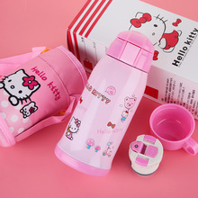 Kettle children's insulation cups straps sucker cups duo a dream hello kitty cups