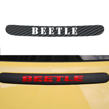 New style Car-styling Carbon Fiber Brake Sticker Rear Brake Lights stickers For Volkswagen beetle car styling