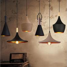 England Beat Musical Instrument Hanging Pendant lights Restaurant bar home lighting engineering suspension lamp