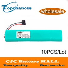 Wholesale 10x High Quality NI-MH 12V 4500mAh Replacement battery for Neato Botvac 70e 75 80 85 D75 D8 D85 Vacuum Cleaner battery(China)