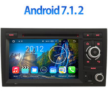 "3G/4G WIFI 7"" Android 7.1.2 2GB RAM Car DVD Radio Player Stereo for Audi A4 S4 RS4 8E 8F B9 B7 RNS-E 2002-2008 GPS Navigation(China)"