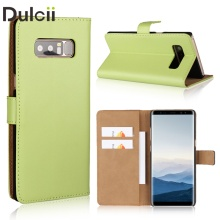 Dulcii for Galaxy Note 8 case cover Split Leather Wallet Stand Magnetic Phone Accessory Casing for Samsung Galaxy Note 8 SM-N950(China)