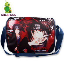 Anime Naruto Uchiha Itachi Printing Shoulder Bag Middle School Students Shoulder Book Bag Teenagers Womens Mens Travel Bag