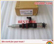 ORIGINAL common rail injector 095000-7140 for    Mighty Mega Truck Euro IV
