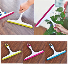 New Simple Durable Window Mirror Car Windshield Squeegee Glass Wiper Silicone Blade Cleaning Shower Screen Cleaning Washing Tool(China)