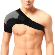 Adjustable Right Single Shoulder Brace Support Strap Pad Gym Sports Protection Support Injury Arthritis Pain Bandage Z16301(China)