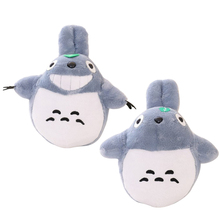 "Hot! 21"" 55cm Selling Item Totoro Cartoon Movies Plush Toys Smiling High Quality Brinquedos Dolls Factory Price Stunning Gift"
