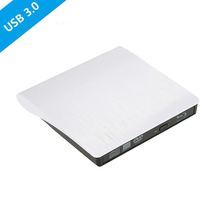 USB 3.0 Bluray Player DVD/BD-ROM CD/DVD RW Burner Writer Play 3d movie External DVD Drive Portable for Windows 10/MAC OS linux(China)