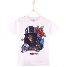 2017 Special Discount Children Clothes Kids T-shirt Guns N Roses Gilby Clarke Top Cotton T Shirts For Boys And Girls Tshirt Tees