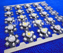 10PCS 1W 3W 5W High Power red/green/Blue/Royal blue/White/Warm White/Cold White/Natural White LED with 20mm star pcb