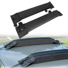 Auxmart Universal Car Roof Rack Cross Bar 85 cm Auto Soft Rack Outdoor Rooftop Luggage Load 80kg 175lbs Baggage for Ladder canoe