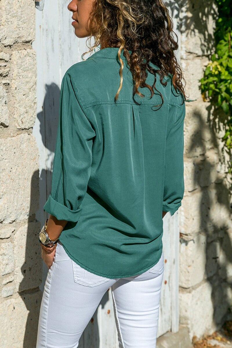 office blouse women plus size 5XL long sleeve blusas mujer de moda 2018 tallas grandes spring autumn shirt top women blouse4