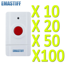 Free Shipping! 10/20/50/100 pcs wholesale Wireless SOS Button for Our Home Alarm Home Security System 433Mhz Panic Button