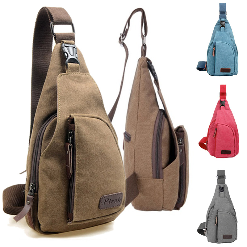 492e395a4781 Detail Feedback Questions about Fashion Canvas Chest Bag for Men ...