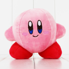 13cm Q Version Game Star Kirby Soft Stuffed Toys Fluffy Pink Plush Animal Dolls Birthday Gifts for Kids(China)